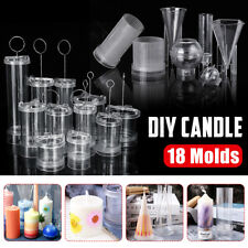 DIY Candle Molds Candle Making Plastic Mould Handmade Soap Molds Clay