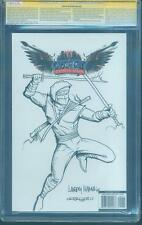 G.I.Joe 204 CGC 3XSS 9.8 Hama Tyndall Rodriguez Storm Shadow Top 1 art sketch
