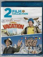 National Lampoon's Vacation & European Vacation Blu-ray 2018 Brand New Sealed