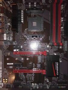 AMD Ryzen 1600AF 6c CPU & Gigabyte B350 Gaming & 16GB DDR4 No.3600.2600