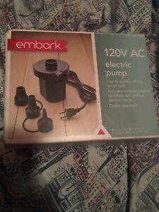 embark 120v ac electric pump VGC