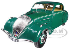 1937 PEUGEOT 402 ECLIPSE DARK GREEN 1/18 DIECAST CAR MODEL BY NOREV 184871