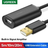 UGREEN USB Extension Cable USB 2.0 3.0 Active Repeater Signal Amplifier Cable