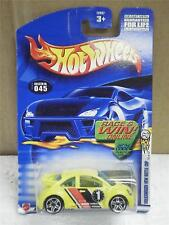 HOT WHEELS- VOLKSWAGEN NEW BEETLE CUP- NEW ON CARD- L47