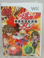 Nintendo Wii Bakugan Battle Brawlers Video Game Tournament Fighting & Fun Action