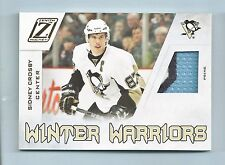 SIDNEY CROSBY 2010/11 ZENITH WINTER WARRIORS 3 COLOR PRIME PATCH /50 PENGUINS
