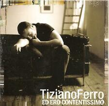 TIZIANO FERRO - ed ero contentissimo CD SINGLE 2TR CARD