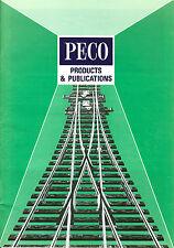CATALOGUE PECO PRODUCTS, DOCUMENT RARE 1988 + TARIFS
