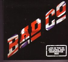 "BAD COMPANY ""Live in the UK - Manchester"" 3 CD Digipack"