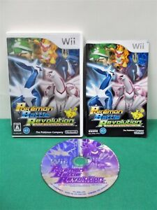 Nintendo Wii -- Pokémon Battle Revolution -- JAPAN GAME. 47930