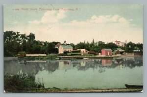 North Shore APPONAUG Cove RI Antique WARWICK Rhode Island Postcard 1912