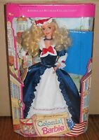 1994 Mattel Colonial Barbie Doll Special Edition American Stories Collection