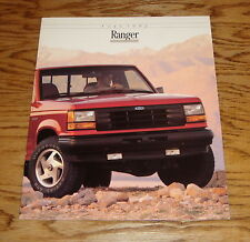 Original 1992 Ford Truck Ranger Sales Brochure 92