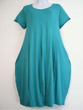 Lagen Look  95% Viscose Short/cap  Sleeve Tulip Dress  One size fits sizes 14-18