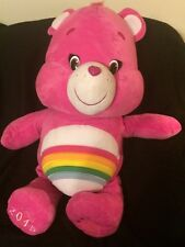 Care Bear Cheer Bear Jumbo Plush 32 inch 2015 Toy