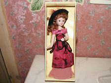 Nostalgie Porzellan-Puppe-Frau-Modeladen-Cafe-Kaufladen-Puppenhaus-Puppenstube