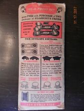 Vintage Pillsbury Advertising Tel-a-phone Holders - Toy Phone FREE WITH PURCHASE