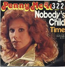 """PENNY McLEAN - Nobody's child - VINYL 7"""" 45 ITALY 1977 VG+ COVER VG- CONDITION"""