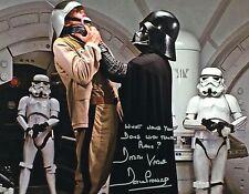 Star Wars David Prowes Darth Vader Star Wars Autograph Signed JSA 11 x14