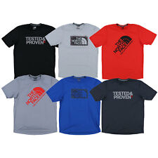 The North Face Mens T-shirt Short Sleeve Performance Tee Stretch Active Gym New
