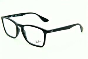 BRAND NEW RAY-BAN RB 7045 5364 BLACK RUBBER AUTHENTIC FRAMES EYEGLASSES 55-18