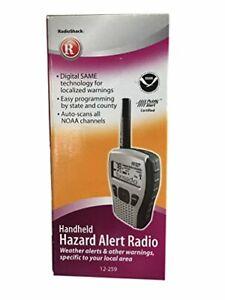 NOAA Certified Handheld Hazard and Weather Alert Radio