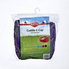 """Kaytee Super Sleeper Cuddle-E-Cup With Bag, 10""""l x 12""""w x 5.5""""h, Colors Vary"""