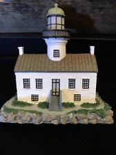 "1999 Geo Z Lefton Old Point Loma Lighthouse Miniature 3.5""x3.5"""