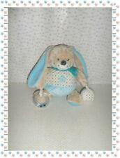 Peluches et doudous Mots d'enfants de lapin, bleus, pour bébé