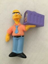 2007 The Simpsons Movie Burger King Kids Meal Toy - Russ Cargill Cake Topper