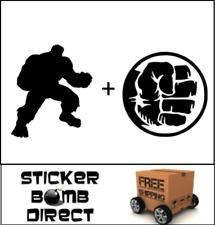 The Incredible Hulk Decal Set Sticker Marvel DC JDM The Avengers Infinity War
