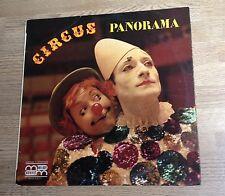 LP Cirque Circus panorama Carmino d'Angelo Annie Fratellini Pierre Etaix