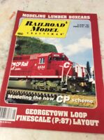 RAILROAD MODEL TRAIN MAGAZINE May 1994