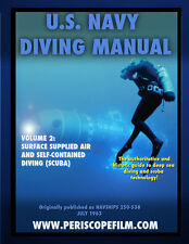 U.S. Navy Diving Book Volume 2 Surface Supplied Air and Self-Contained Diving