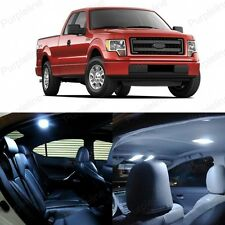 11 x Xenon White LED Interior Light Package For 2009 - 2014 Ford F-150 F150