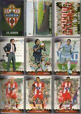 27 fichas del Almería Mundicromo Fichas de la liga 2008-2009