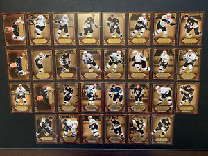Sidney Crosby 2005-06 Upper Deck Diary Of A Phenom Complete Set 1-30 Penguins