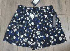 Goldie Spoken Thoughts Floral Printed High Waisted Shorts size S / 36 BNWT #29