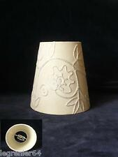 Abat jour tissu, applique, lustre, lampe électrique 113 mm à clip N°004