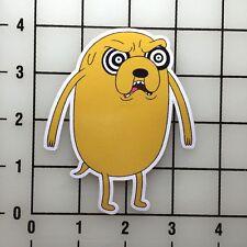 "Adventure Time Hypno Jake 4"" Tall Vinyl Decal Sticker BOGO"