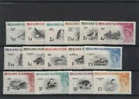 FALKLAND IS, QEII 1960 SET COMPLETE LMM CAT £170+