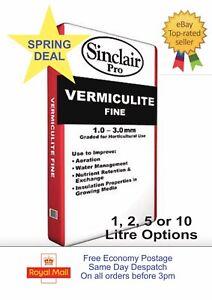 Sinclair Pro Fine Vermiculite 1-3mm Particles 1L, 2L, 5L, 10L Seed Propagation