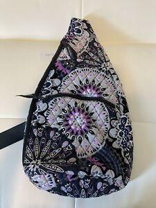NWT VERA BRADLEY Large Sling Backpack Purse/Bag Mimosa Medallion Print