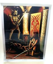 "United Cutlery Poster Print Elexorien Vaelen Confronts Darkness Kit Rae 24X18"""