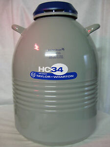 Stickstoff Kühler Liquid Nitrogen Container 34HCB-11M 34 Liter Nr. 281067