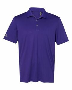 Adidas Mens Golf Polo Performance Sport Shirt A230 S-4XL 12 Colors