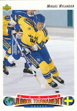 1992-93 Upper Deck #236 Mikael NYLANDER  RC - Team Sweden WJC