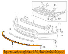 Chevrolet GM OEM 15-16 Trax Front Bumper Grille-Lower Deflector 95420979