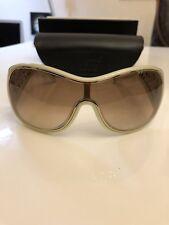 MONTBLANC *Eyewear* Damen Sonnenbrille - Beige 100% UV Schutz NP:295€ -1238