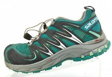 Salomon XA Pro 3D Trail Running Shoes Green Ortholite Athletic Sneakers Womens 9